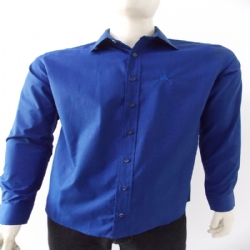 Camisa Fil a Fil Slim ML
