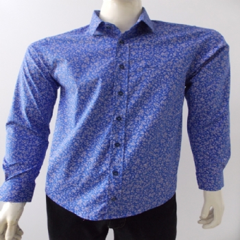 Camisa Faces Slim Fit ML